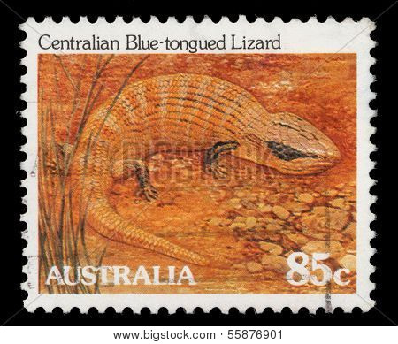 AUSTRALIA - CIRCA 1981: A stamp printed in Australia from the