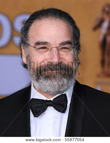 LOS ANGELES - JAN 27:  Mandy Patinkin arrives to the SAG Awards 2013  on January 27, 2013 in Los Angeles, CA