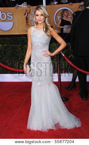 LOS ANGELES - JAN 27:  Katrina Bowden arrives to the SAG Awards 2013  on January 27, 2013 in Los Angeles, CA