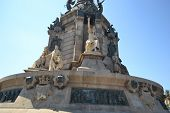 foto of christopher columbus  - Monument of Columbus Columbus - JPG