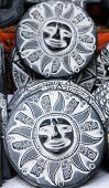 pic of talisman  - La Paz Witches Market traditional talismans on the stall in the la paz for traditional Aymara rituals - JPG