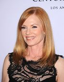 LOS ANGELES - MAY 03:  Marg Helgenberger arrives to the Race To Erase MS 2013  on May 03, 2013 in Ce
