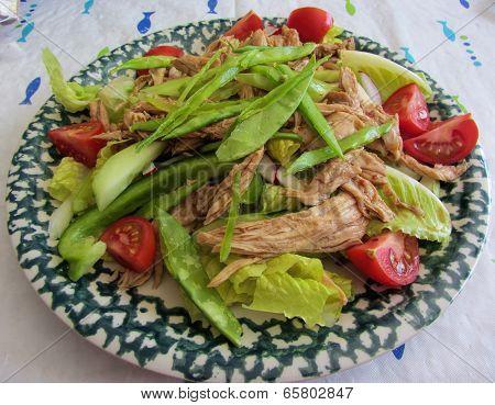 Leftover Thanksgiving Turkey Salad