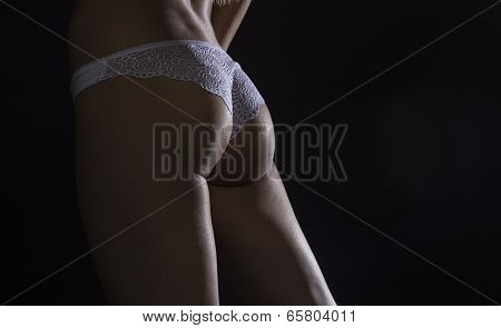 Silhouette Of Perfect Sexy Female Body