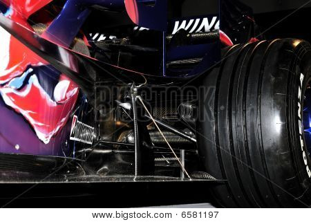 Particular of F1 car