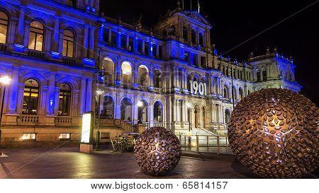 Brisbane Treasury Casino by night