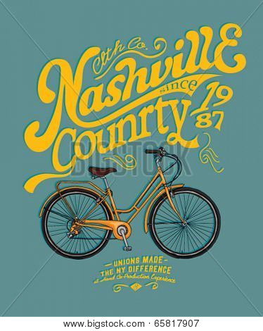 bicycle illustration 4