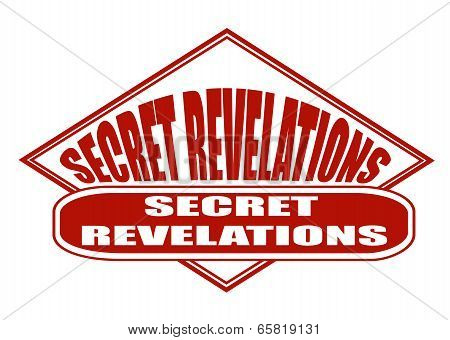 Secret Revelations Stamp