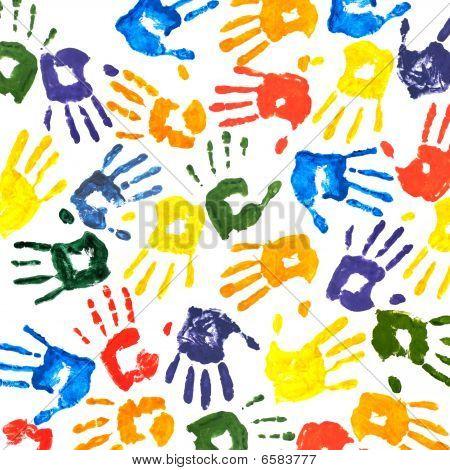 Handprints