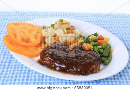Chopped Steak Dinner