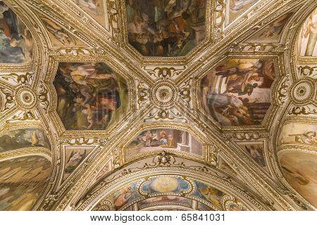 The Duomo, cathedral of Amalfi, campania, Italy