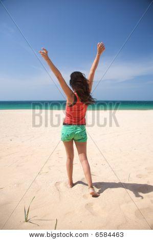 Bailar en la arena