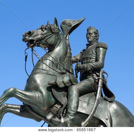 Washington, DC - Statue of Andrew Jackson in Lafayette Park