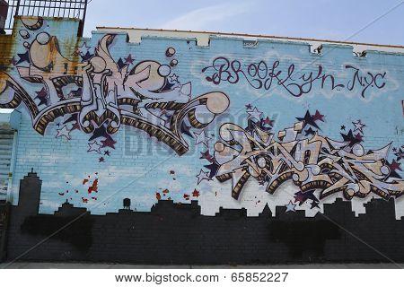 Mural in Brooklyn, NY