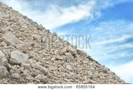 limestone scree