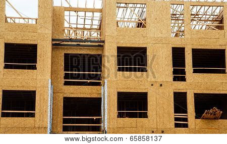 Plywood Sheathing With Wood Framing
