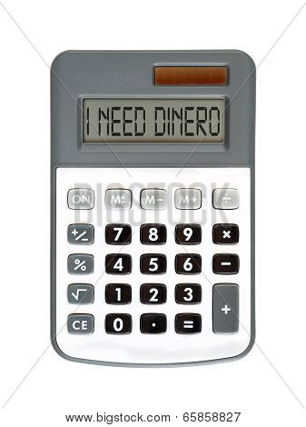 I Need Dinero
