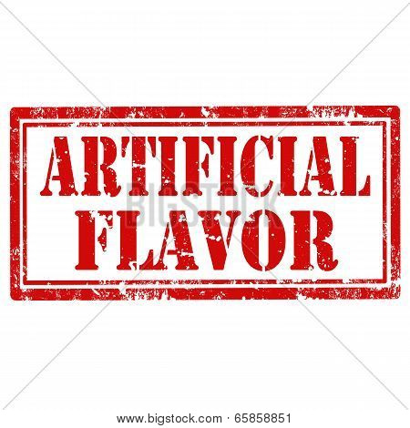 Artificial Flavor-stamp