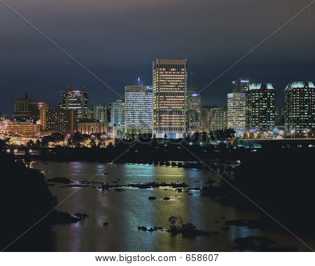Richmond Night Skyline