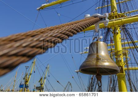 Tall Ship Alarm Bell