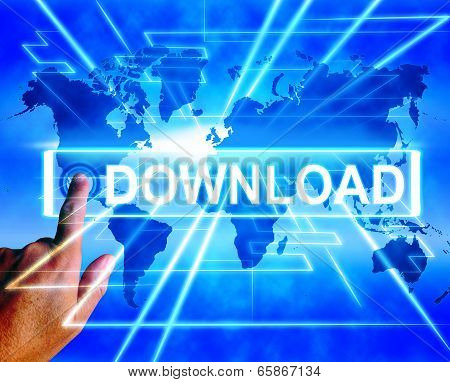 Download Map Displays Downloads Downloading And Information Transfer