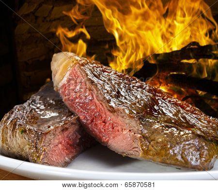 Brazilian BBQ, picanha.