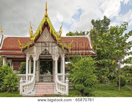 Phetchaburi Temple In Thailand