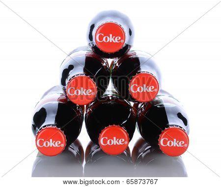 6 Coca-cola Bottles
