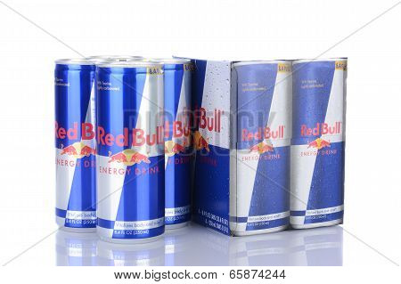 A 4Pk Of Red Bull Energy Drink