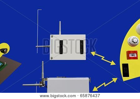 Radio System For Security And Fire