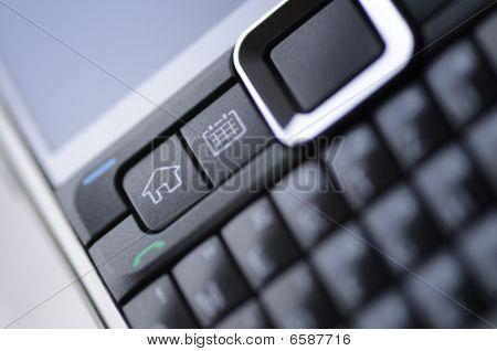 teclado de teléfono celular inteligente