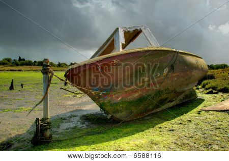 Old Red Boat