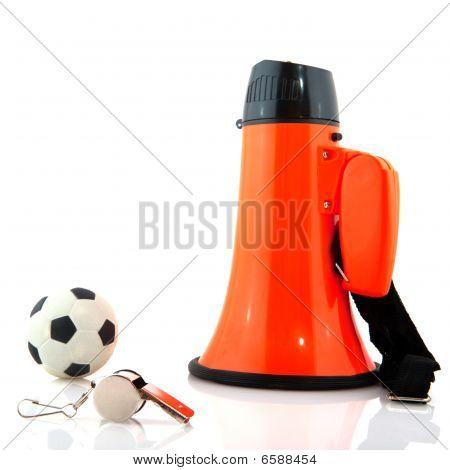 Apoyo a equipo de fútbol holandés
