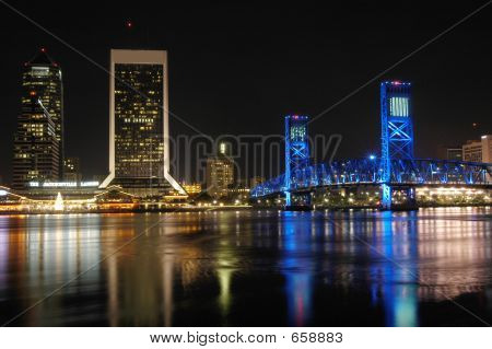 Downtown Jacksonville Florida USA