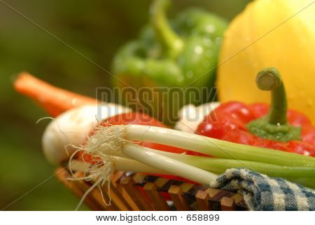 Closeup Of Vegetables