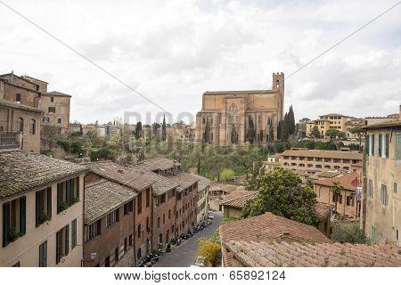 Church Of St. Dominic. Siena