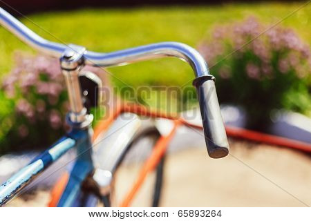 Vintage Bicycle Detail Close Up