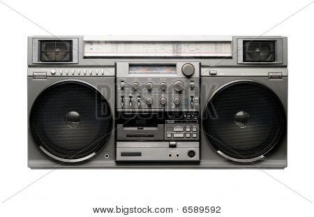 Boombox grande desde los años 1980