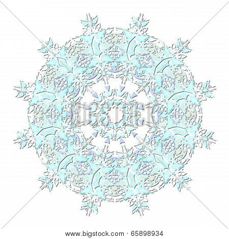 Snowflake Icon Background