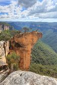 Постер, плакат: View Of Hanging Rock Blue Mountains Nsw Australia
