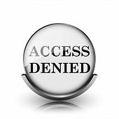foto of denied  - Access denied icon - JPG