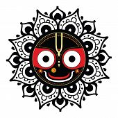 stock photo of vedic  - Jagannath - JPG