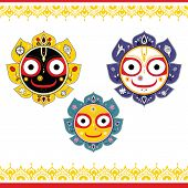 stock photo of lord krishna  - Jagannath - JPG