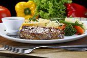 stock photo of brazilian food  - Picanha - JPG