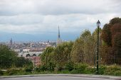 pic of torino  - Torino italian vacation in Piemonte in summer - JPG