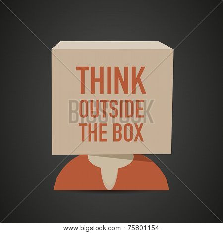 think outside the box head