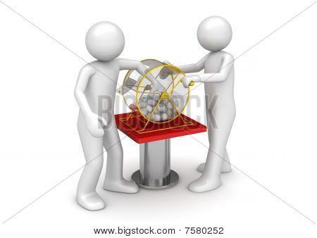 Gambling Collection - Bingo Drawing