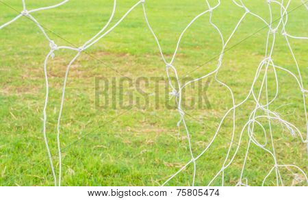 Old Soccer Goal