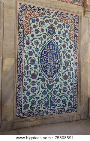 Intricate Iznik Mosaic Tile Work