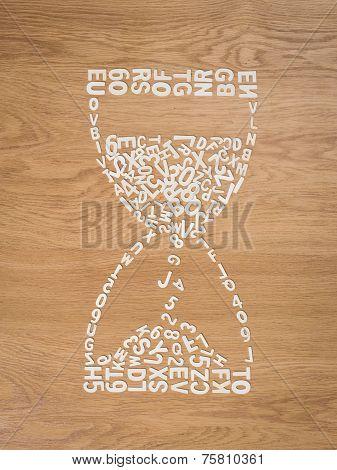Creative Hourglass
